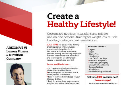 Create a NEW Healthy Lifestyle Today!