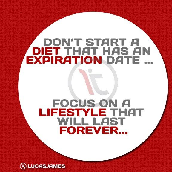 Fitness Motivation: Diet Expiration