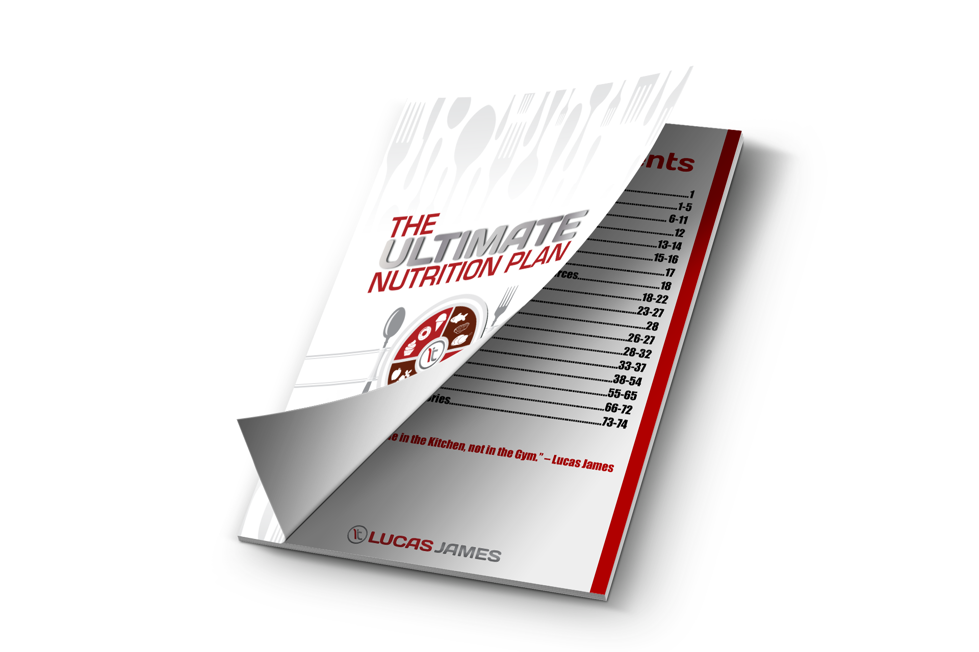 ULTIMATE NUTRITION PLAN - COVER