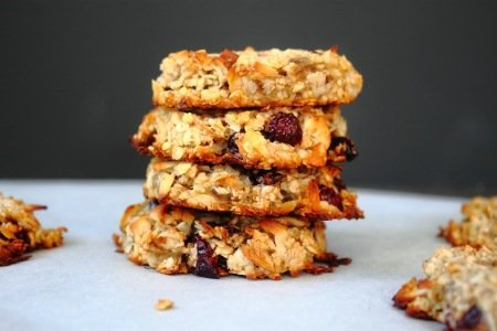Healthy Banana Nut Breakfast Cookies
