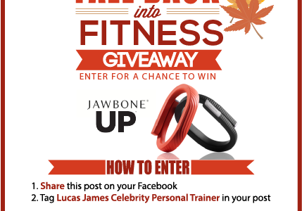 Share. Tag. WIN! Jawbone Up Giveaway