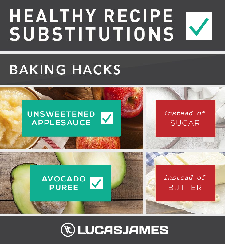 Healthy Recipe Substitutions: Baking Hacks