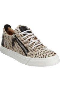 Giuseppe Zanotti Python Zip Sneakers