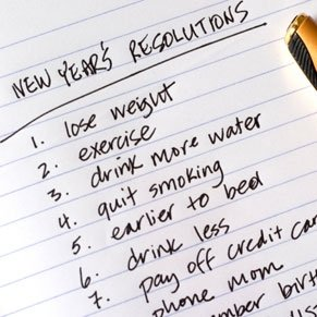 2011 New Year's Resolution to Lose Weight
