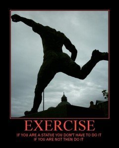 exercise motivational poster scottsdale personal trainer 240x300 Staying Motivated to Reach Your Exercise Goals