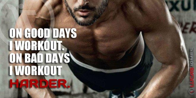 Fitness Motivation: Good Days