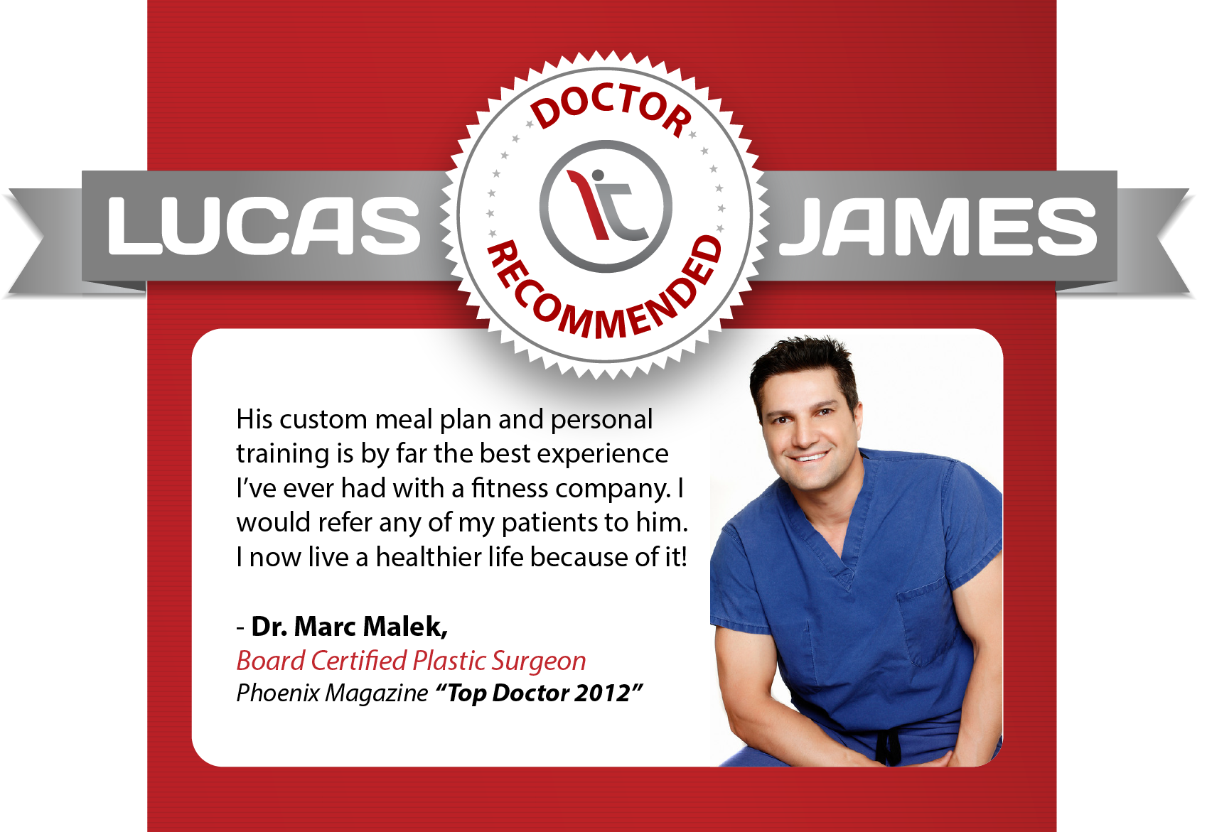 Lucas James - Doctor Recommended