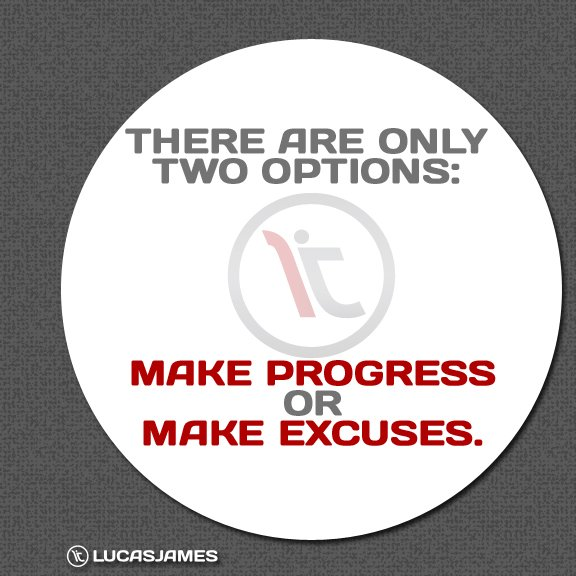Fitness Motivation: There are Only Two Options