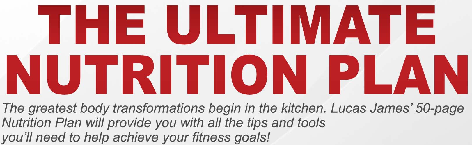 Ultimate Nutrition Plan By Leading Arizona Personal Trainer