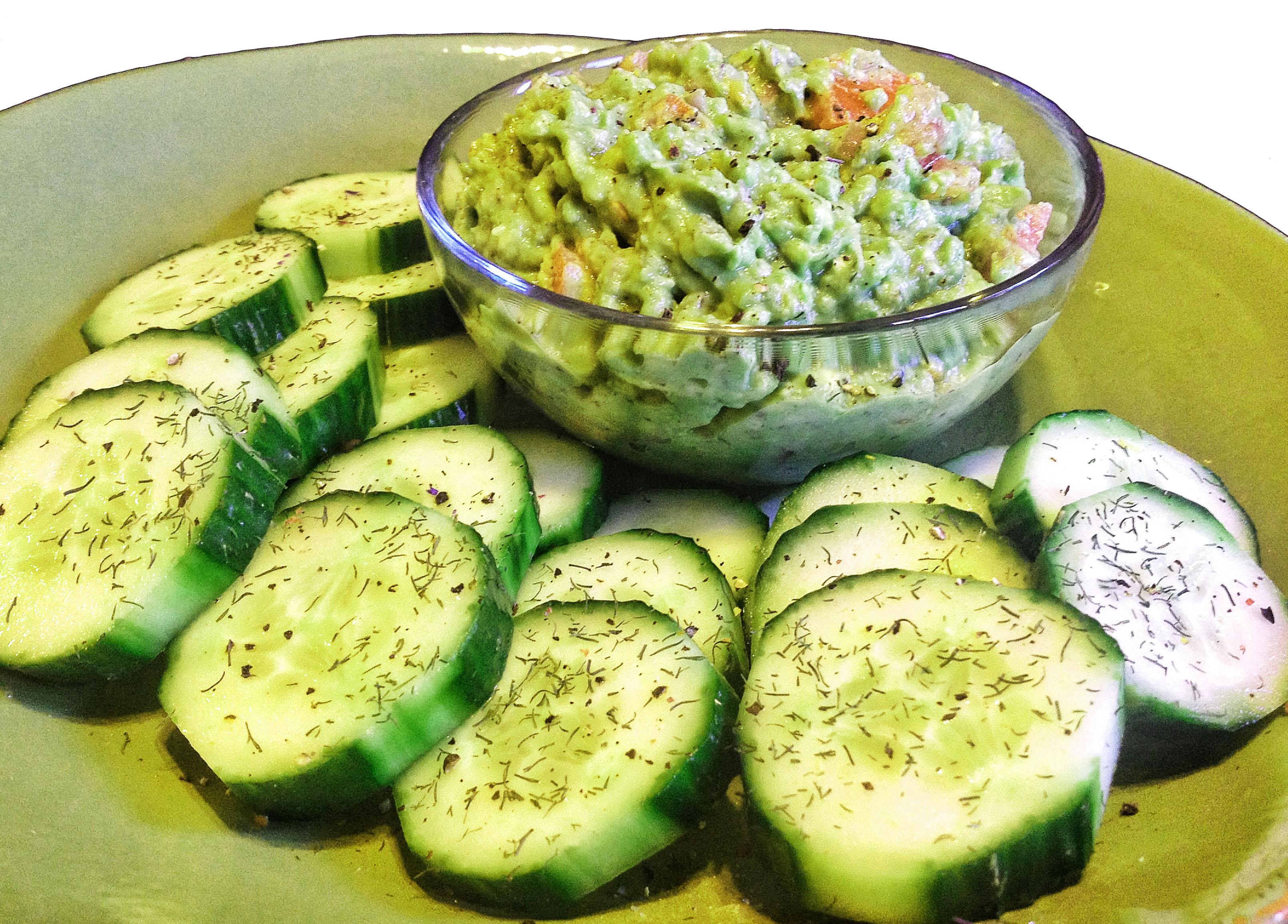 Healthy Tuna Salad Cucumber Bites