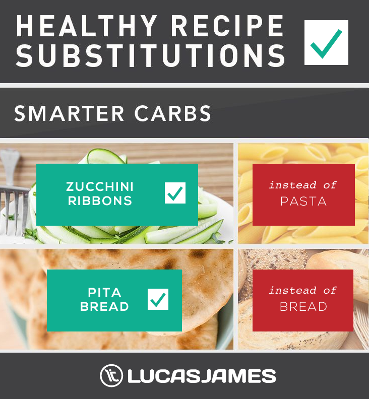 Healthy Recipe Substitutions: Smarter Carbs
