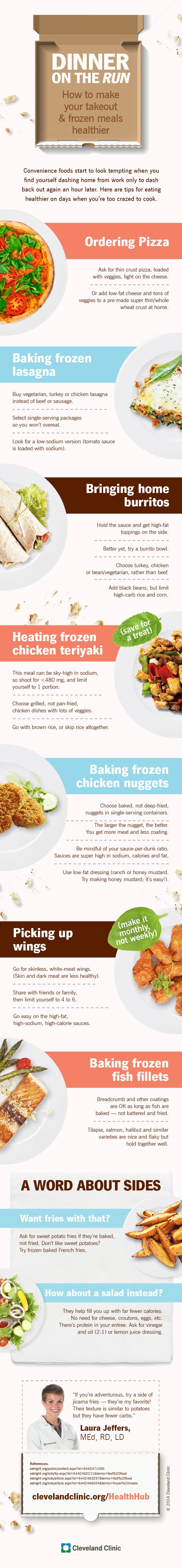 Make Your Takeout & Frozen Meals Healthier