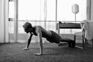 The 30-Minute Hotel Room Workout