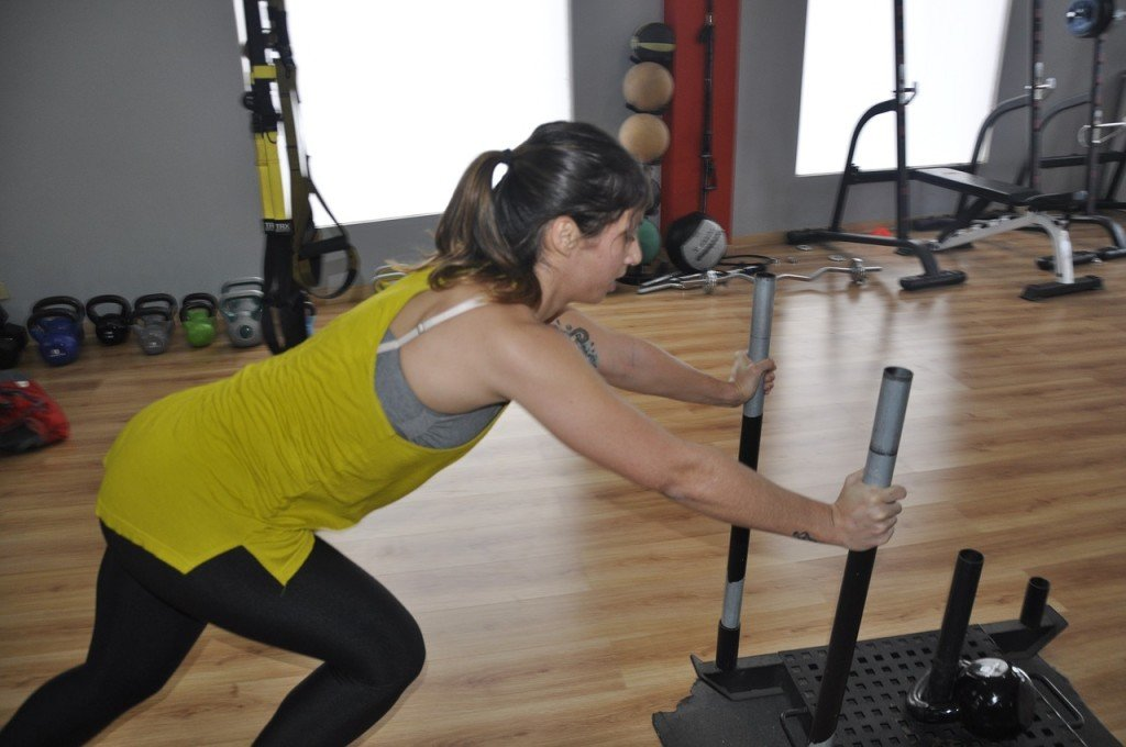 The Power Sled Workout