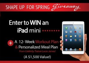 Lucas James Spring Giveaway Personal Trainer Scottsdale