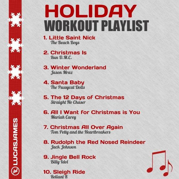 Fitness Motivation: Holiday Workout Playlist