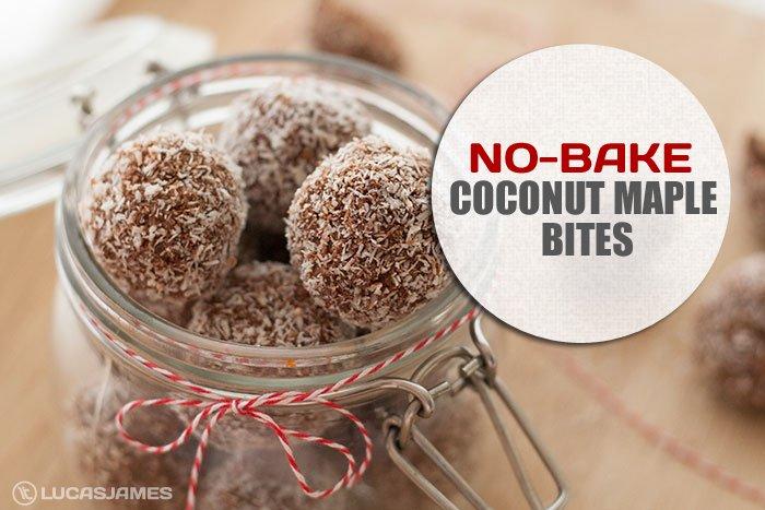 No-Bake Coconut Maple Bites