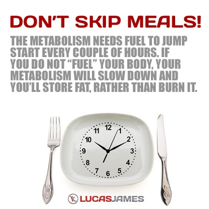 Fit Tip: Don't Skip Meals