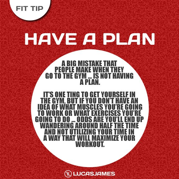 Fit Tip: Have a Fitness Plan