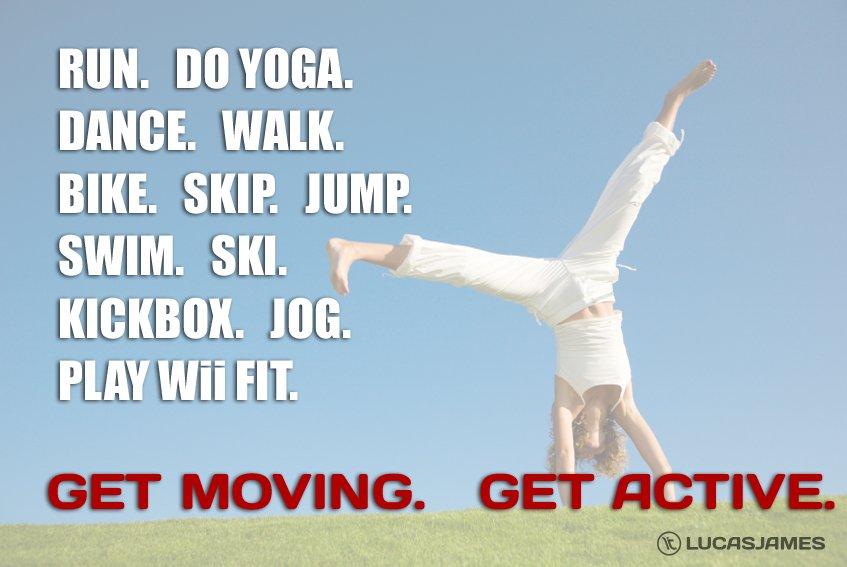 Fitness Motivation: Get Active