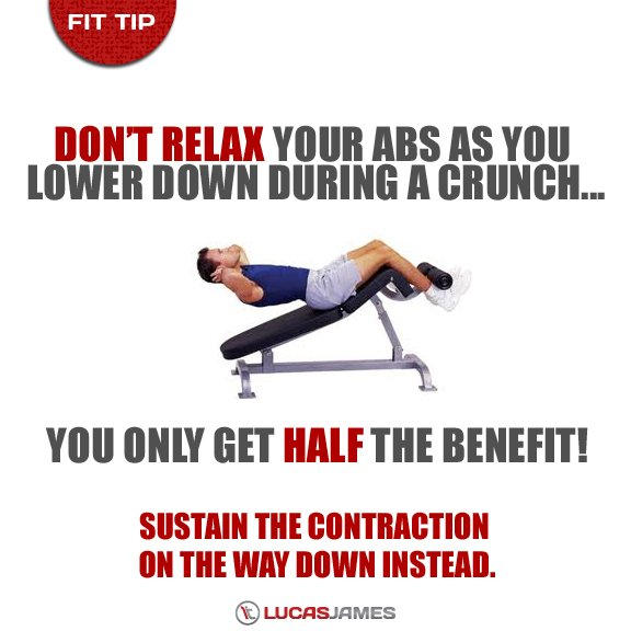 Fit Tip: Ab Crunches