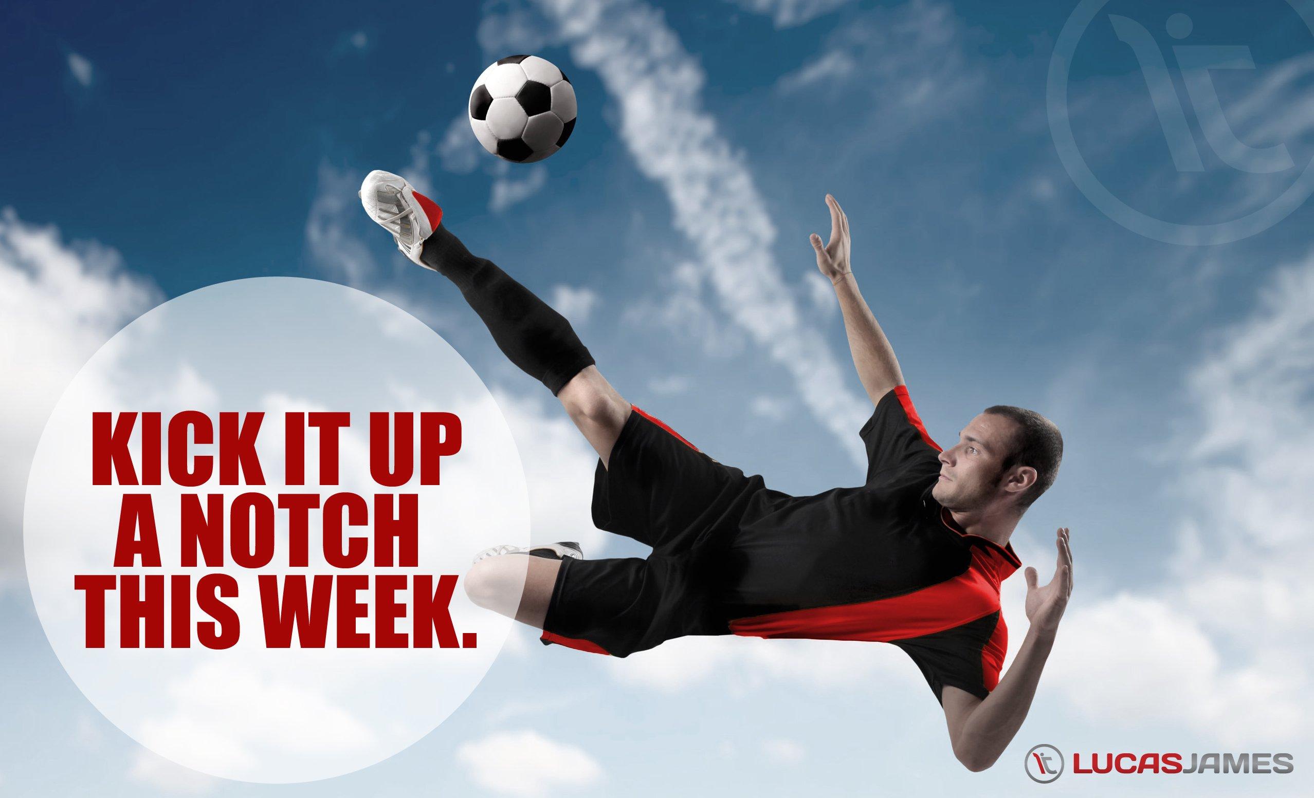 Fitness Motivation: Kick it Up a Notch