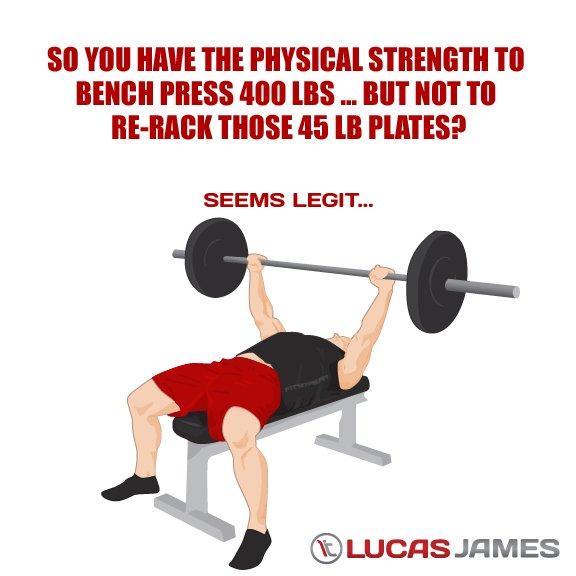 Fitness Motivation: Re-rack Humor