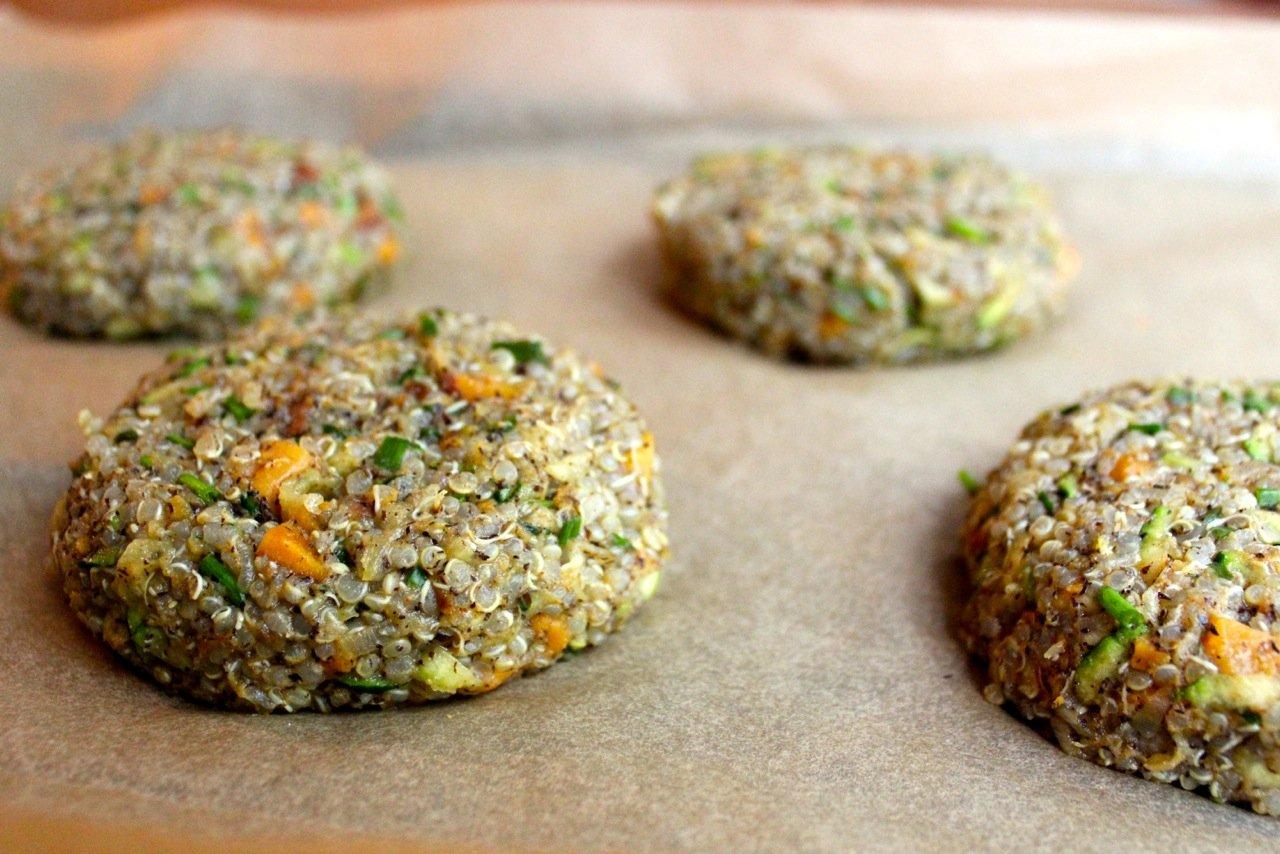 Healthy Quinoa Burgers