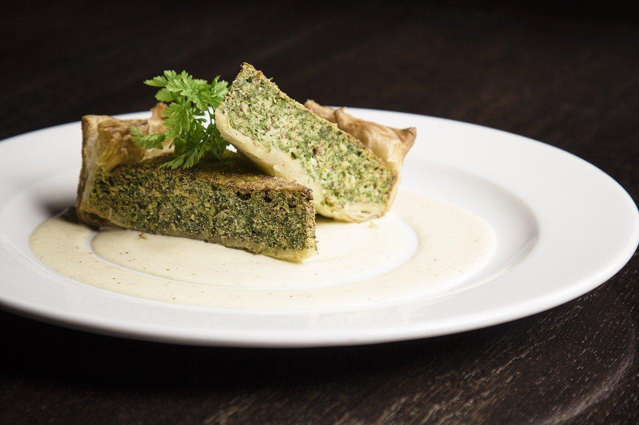 Spinach and Feta Sweet Potato Breakfast Quiche